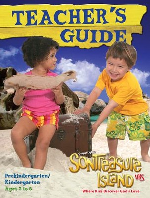 VBS 2014 SonTreasure Island - Teacher's Guide: PreK & Kindergarten (Ages 3-6)   -