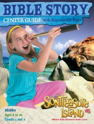 VBS 2014 SonTreasure Island - Bible Story Center Guide: Middler   -