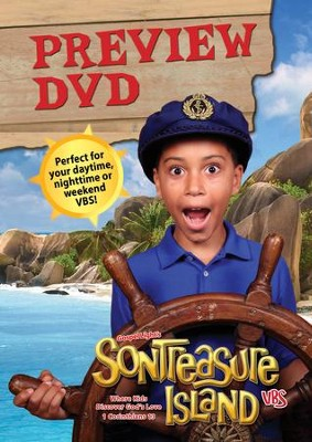 VBS 2014 SonTreasure Island- Preview DVD  -