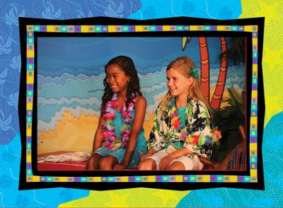 VBS 2014 SonTreasure Island- Photo Frames: 12 Pack  -