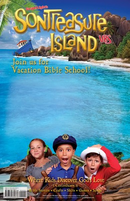 VBS 2014 SonTreasure Island- Publicity Poster  -