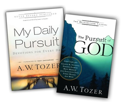 The Pursuit of God/My Daily Pursuit 2 Pack  -     By: A.W. Tozer