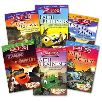 Auto B Good DVD Collection, 6 Pack   -