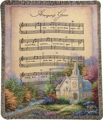 Church In the Country Throw  -     By: Nicky Boehme