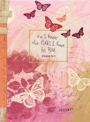 Journal Butterfly Design, I Know the Plans   -