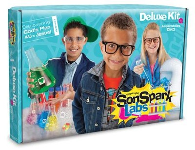 VBS 2015 SonSpark Labs: Discovering God's Plan 4U=Jesus - Deluxe Kit  -
