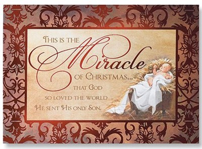 This is the Miracle of Christmas Cards, Pack of 20  -