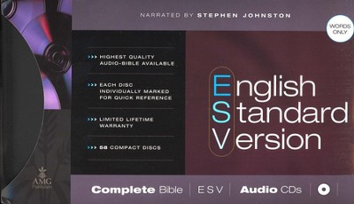 ESV: Complete Bible on Audio CD  -     Narrated By: Stephen Johnston