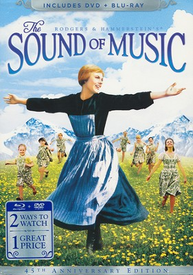 The Sound of Music, 45th Anniversay Edition, DVD/Blu-ray   -