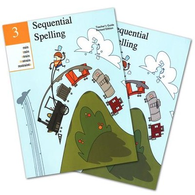 Sequential Spelling Level 3 Teacher Guide & Student Workbook, Revised Edition  -