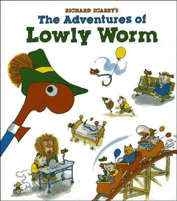 Richard Scarry's The Adventures of Lowly Worm  -     By: Richard Scarry
