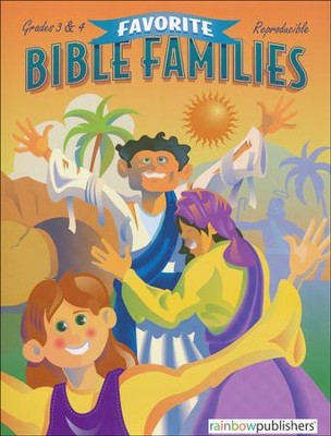 Favorite Bible Families, Grades 3 & 4   -     By: Bonnie Line