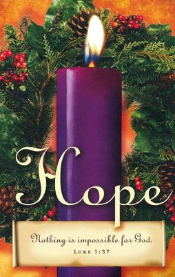 Advent Sunday 1 Purple Bulletins (Package of 50)  -