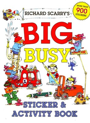 Richard Scarry's Big Busy Sticker & Activity Book  -     By: Richard Scarry