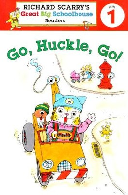 Richard Scarry's Readers: Go, Huckle, Go!, Level 1  -     By: Richard Scarry