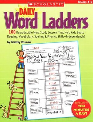 Daily Word Ladders: Grades 4-6  -     By: Timothy Rasinski