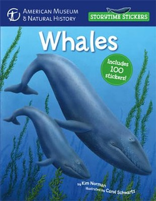 Storytime Stickers: Whales  -     By: Kim Norman