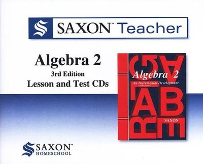 The Saxon Teacher for Algebra 2, Third Edition on CD-ROM  -