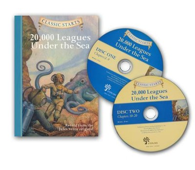 20,000 Leagues Under the Sea w/CD  -     By: Jules Verne