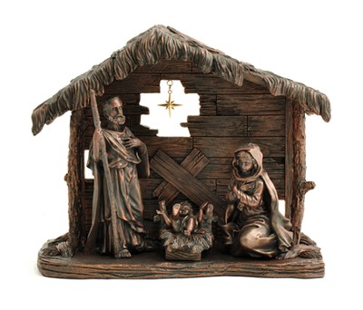 Holy Family with Creche, Moments of Faith   -