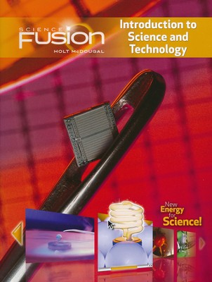 Science Fusion Module K: Introduction to Science and Technology,  Grades 6-8  -