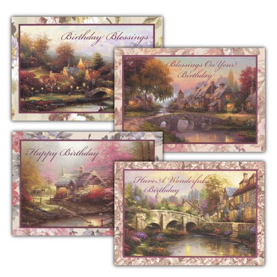 Thomas Kinkade Birthday Cards   -     By: Thomas Kinkade
