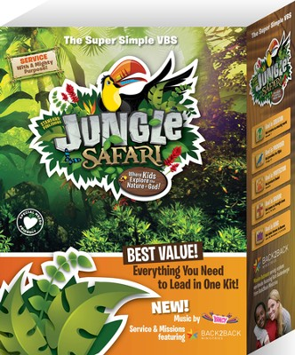 VBS 2014 Jungle Safari VBS--Super Simple VBS Kit   -
