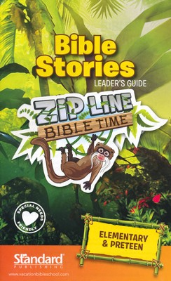 VBS 2014 Jungle Safari: Where Kids Explore the Nature of God! Bible Stories Leader's Guide: Elementary & PreTeen  -