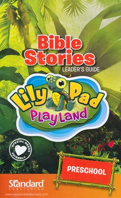 VBS 2014 Jungle Safari: Where Kids Explore the Nature of God! Bible Stories Leader's Guide: Preschool  -