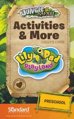 VBS 2014 Jungle Safari: Where Kids Explore the Nature of God! Activities & More Leader's Cards: Preschool  -