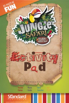 VBS 2014 Jungle Safari: Where Kids Explore the Nature of God! Activity Pad  -