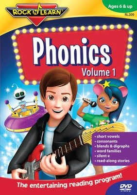 Phonics Volume 1 DVD   -