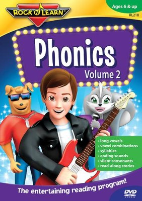 Phonics Volume 2 DVD   -