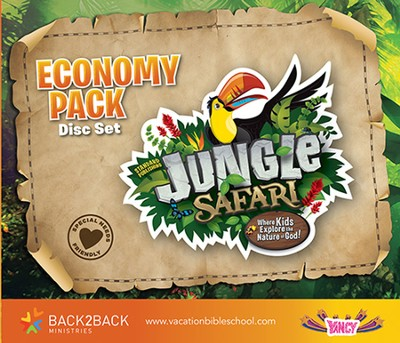VBS 2014 Jungle Safari: Where Kids Explore the Nature of God! Jungle Safari Economy Pack  -