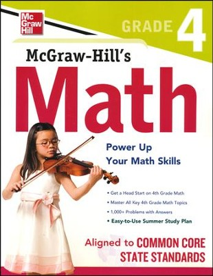 McGraw-Hill's Math Grade 4   -