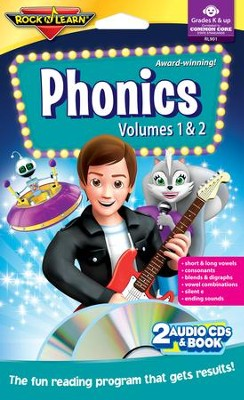 Phonics Volume 1 & 2 Audio CD & Book   -