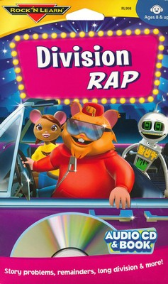 Division Rap CD & Activity Book   -