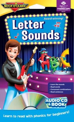 Letter Sounds CD & Book   -
