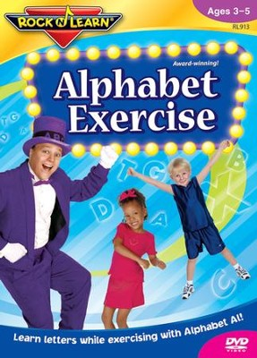 Alphabet Exercise DVD   -