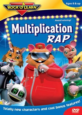 Multiplication Rap DVD   -