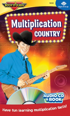 Multiplication Country CD & Activity Book   -