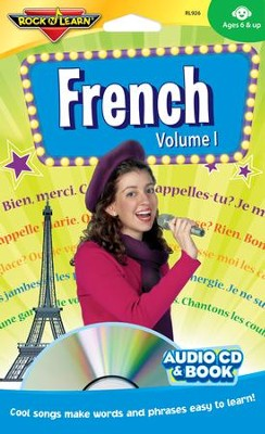 French Volume 1 CD & Book   -