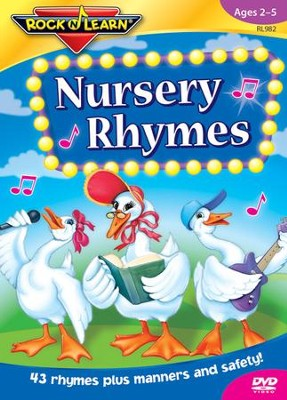 Nursery Rhymes CD & Book   -