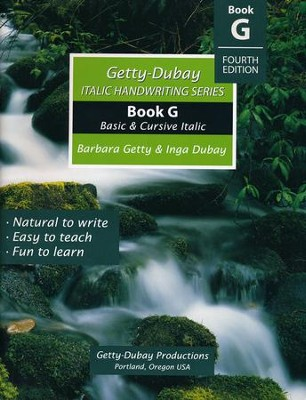 Book G: Basic & Cursive Italic Fourth Edition Rev.   -     By: Barbara Getty, Inga Dubay