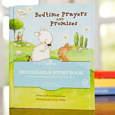 Bedtime Prayers and Promises, Recordable Story Book  -
