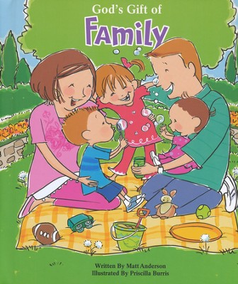 God's Gift of Family, Recordable Story Book  -
