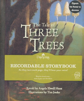 The Tale of three Trees, Recordable Story Book  -
