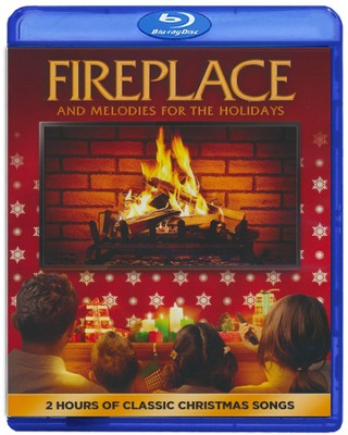 Fireplace and Melodies for the Holidays, Blu-ray    -