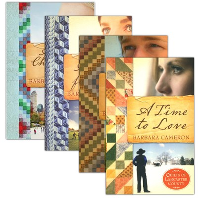Quilts of Lancaster County Series, Volumes 1-4  -     By: Barbara Cameron