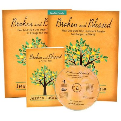 Broken and Blessed Kit: How God Used One Imperfect Family to Change the World  -     By: Jessica LaGrone